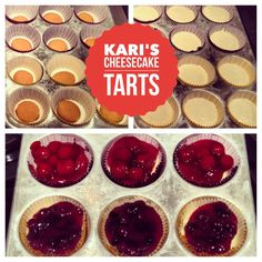 Kari's Cheesecake Tarts| The Braces Blog | Northern Colorado Orthodontics  We have an easy-to-make and braces-friendly Valentine's Day treat that isn't hard, crunchy, sticky, or chewy!  Delicious!