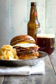 Crispy Porchetta Burger - Foodness Gracious