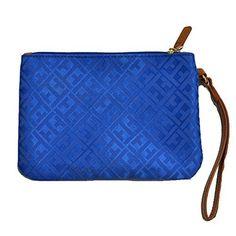 a3e814965 Tommy Hilfiger Wristlet in Blue