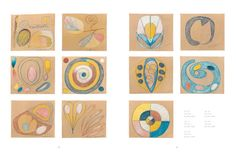 Hilma af Klint - A Pioneer of Abstraction. Hilma af Klint an artist whose work is still far too unknown to a wider public, eschewed Abstract Painters, Abstract Art, Eye Illustration, Illustrations, Hilma Af Klint, The Doors Of Perception, Woman Painting, Color Theory, Sacred Geometry