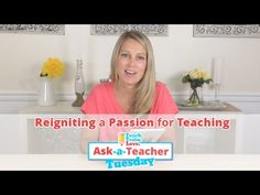 Reigniting a Passion for Teaching. Great post from #Teach, Train and Love! #kids  #ece