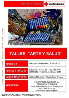 TALLER ARTE Y SALÚD 25sep-27nov | Guía de Vilagarcía