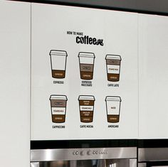 1000 images about signage design on pinterest coffee for Home ingredients design