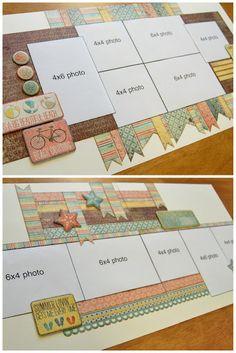 scrapbook generation: New Debbie Sanders kits! Scrapbook Layout Sketches, Scrapbook Templates, Card Sketches, Scrapbook Paper Crafts, Scrapbooking Layouts, Baby Scrapbook, Scrapbook Cards, Scrapbook Photos, Scrapbook Generation