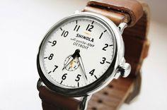 Snyder NY | Todd Snyder/ Shinola Watch, Detroit.
