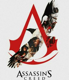 Awesome poster of the assassins Creed games