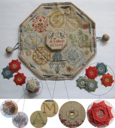 Quaker Winders' Keeper, so pretty, tutorial costs..I would love to learn how to make the red silk winder!!!!