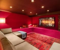 Home theater in New York, US