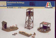 Italeri 1/72 WWII Battlefield Buildings # 6130