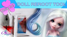 Hello! It's Maria and welcome to my new Reroot Tool tutorial! :) Here i will explain how i make my reroot tool which i use for my own dolls. It requires simp...
