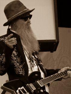 billy gibbons #gretsch #billybo #guitar