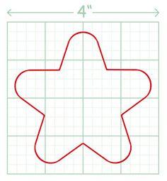 adornos arbol navidad fieltro patrones estrella