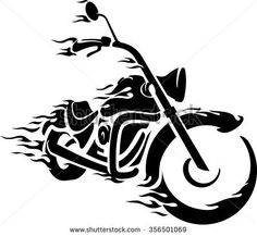 Billedresultat for harley motorcycle silhouette Stencils, Stencil Templates, Stencil Art, Skull Stencil, Motorcycle Tattoos, Motorcycle Art, Bike Art, Motorcycle Images, Transférer Des Photos