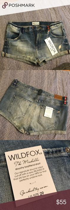 Wildfox Women's Jean Shorts size 29 The name of the style is called Michelle kismet short Wildfox Shorts Jean Shorts
