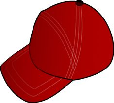 Free Vector Graphic: Red, Cartoon, Hat, Summer, Sports - Free Image on Pixabay - 40031