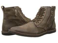 John Varvatos Barrett Side Zip Boot Brown - Zappos.com Free Shipping BOTH Ways. www.designerclothingfans.com