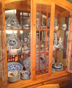 Cibulák – Blue Onion Porcelain.  My beautiful collection.  <3 <3 <3