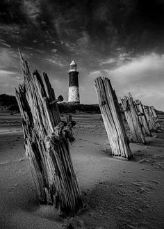 #Lighthouse - Spurn Point, #Yorkshire http://dennisharper.lnf.com/