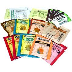 Wholesome Sweeteners, Inc., Variety Sample Pack - iHerb.com. Bruk gjerne rabattkoden min (CEC956) hvis du vil handle på iHerb for første gang. Da får du $5 i rabatt på din første ordre (eller $10 om du handler for over $40), og jeg blir kjempeglad, siden jeg får poeng som jeg kan handle for på iHerb. :-)