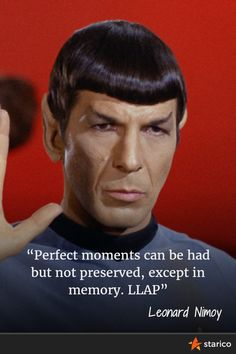 Leonard Nimoy, Star Trek's Spock died at 83. Here his last tweet. Thank you Leonard.  #Spock #StarTrek #Leonard #Nimoy