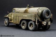 Model Truck Kits, Fuel Truck, Dodge Power Wagon, Model Tanks, Rc Trucks, Military Diorama, Plastic Model Kits, Armored Vehicles, Scale Models