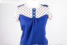 """Sew-Along """"Shirt Marla"""" Teil 2: Halseinfassband, Kragen und..."""