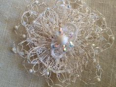 Twisted Crystals: Flowers and Antique Lace uploadeed by Laura Timmons