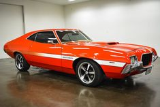This Bold 1972 Ford Gran Torino Offers A Head-Turning Guarantee Chevy Classic, Ford Classic Cars, Classic Trucks, Grand Torino, Ford Torino, Tuner Cars, Ford Fairlane, Fuel Injection, Car Ford