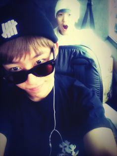 B.A.P Daehyun and Zelo daehyun twitter update..