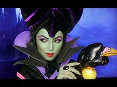 An amazing Maleficent make-up transformation from Promise Phan.