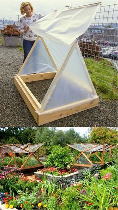 , 45 DIY Greenhouses with Great Tutorials: Ultimate collection of THE BEST tutorials on how to build amazing DIY greenhouses hoop tunnels and cold frame. , 42 Best DIY Greenhouses ( with Great Tutorials and Plans! Greenhouse Plans, Greenhouse Gardening, Gardening Tips, Greenhouse Wedding, Cheap Greenhouse, Portable Greenhouse, Indoor Greenhouse, Gardening Gloves, Diy Small Greenhouse