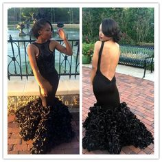 Sexy Prom Dresses,Prom Dress,Black Evening Gown,Long Formal Dress,Black