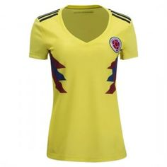0e3bb052c 2018 World Cup Women Jersey Colombia Home Replica Yellow Shirt 2018 World  Cup Women Jersey Colombia Home Replica Yellow Shirt