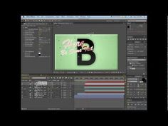 Custom Wipe Transition using Alpha Channels - After Effects Tutorial - YouTube