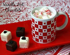 Vanilla Hot Chocolate and a Valentine's Day Hot Chocolate Party