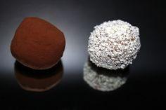 Sladký a slaný::Dulce y salado — Kávové lanýže :: Trufas de café Nescafe, Chocolate, Food, Tumblr, Image, Instagram, Truffles, Recipes, Sweet And Saltines