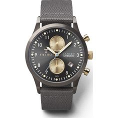 Triwa Walter Lansen Chrono Watch | Gray Canvas Classic
