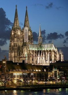 Cologne Cathedral, Germany home of the reliquary of the Three Kings!