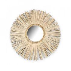 Decoratiune cu oglinda crem din rafie pentru perete 24 cm Elias Opjet Paris Natural Mirrors, Beige, House Design, Paris, Home Decor, Mood, Accessories, Hobby Lobby Bedroom, Child Room