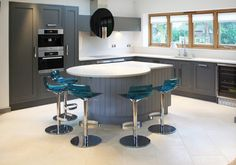 Adjustable Barstool Kitchen Design Ideas, Pictures, Remodel and Decor