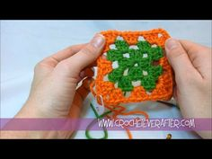 Motif of the Month Jan. 2013: Traditional Granny Square Workshop with Fr...