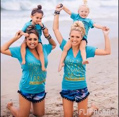 Best moms and best friends❤️ Mother Daughter Outfits, Mommy And Me Outfits, Mom Daughter, Summer Outfits, Girl Outfits, Cute Outfits, Savannah Soutas, Cole And Savannah, Cute Little Girls