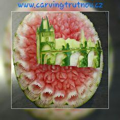 carving fruit carving watermelon birthday gift thai carving inspiration meloun Trutnov dárek inspirace kytky květiny flower flowers