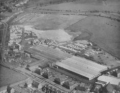 Aerial View of Thomson Caravans, Falkirk