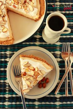 Almond Butter Pie - Follow #SightApp and save an entire article by 1 screenshot (Check How: https://itunes.apple.com/us/app/sight-save-articles-news-recipes/id886107929?mt=8