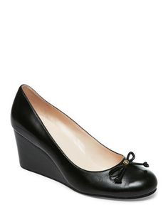 0bc8824a4fe6 Black Elsie Wedge Pumps Black Wedges