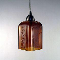 pendant light. Contreau bottle