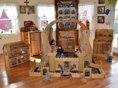 Elves & Angels: made by an Orthodox family! Pic of David's Playstands