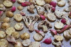 Moroccan mint roasted vegetables for dinner tonight -- photo and recipe by Heidi Swanson