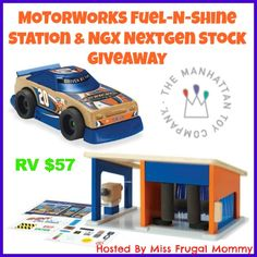 MOTORWORKS Fuel-N-Shine Station & NGX NextGen Stock Giveaway - Queen of Savings